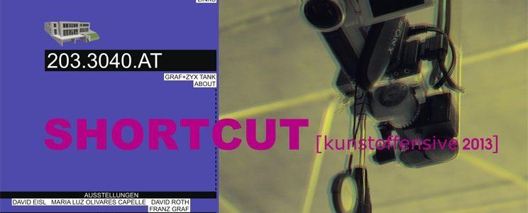 SHORTCUT [kunstoffensive2013]